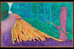 Prestel book accompanies major David Hockney exhibition on view in San Francisco