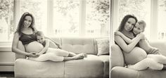 Maternity photography with older kids - Rozana Photography, Ramsey NJ