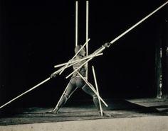 1920's--German--Oskar Schlemmer--Slat Dance.
