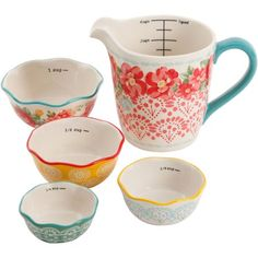 Shop for The Pioneer Woman in Featured Shops. Buy products such as The Pioneer Woman Flea Market Scalloped Ramekins, Set of 6 at Walmart and save. The Pioneer Woman, Pioneer Woman Kitchen, Pioneer Women, Liquid Measuring Cup, Measuring Cups, Prep Kitchen, Kitchen Decor, Kitchen Ideas, Kitchen Design