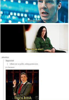 Sherlock and Loki Funny Marvel Memes, Marvel Jokes, Dc Memes, Avengers Memes, Funny Memes, Hilarious, San Claflin, Marvel Universe, The Avengers