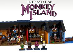 LEGO Ideas - The Secret of Monkey Island - The Scumm Bar