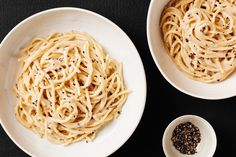This classic pasta only has a few ingredients, but the rich cheese, butter, and olive oil (along with a splash of pasta cooking liquid) merge into a surprisingly silky, flavor-packed sauce.