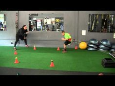 Youth Strength, Speed & Agility Training (Complete VertiMax Workout - Part 4 of 4) - YouTube