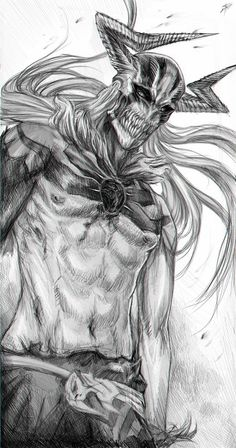 Ichigo - Vasto Lorde by ~RomaniacC on deviantART: