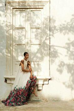 The Editorial: Chanel Iman for Harper's Bazaar Russia June 2014 Photographer: Alexander Neumann Stylists: Almudena Guerra and Svetlana Vashenyak