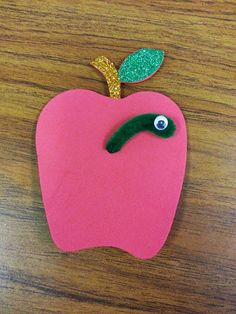 Misadventures of a YA Librarian: Sparkly Apple Magnet
