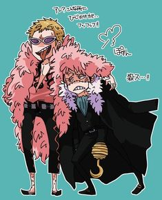Doflamingo/Crocodile