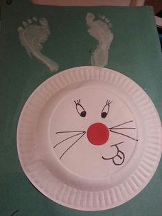 Easter bunnies! We tried this at Sarah Jarman childminding and it was a big success!