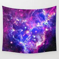 Wall Tapestries featuring Galaxy. by Matt Borchert