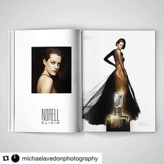 #Repost @michaelavedonphotography  My Norell Elixir Campaign Featured in this Months @crfashionbook Starring the Divine Riley Keough @rileykeough @norellnewyork @lloydandco #norellelixir #fragrance #campaign