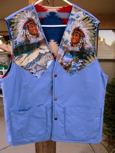 Vintage Southwestern Native American Indian Chief by retrosideshow