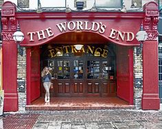 World's End- Famous and expensive pub in Camden Town, London.(scariest place i ever went into in London - sketch) Camden London, Camden Town, London Pubs, London Places, London Food, Boutiques, British Pub, British Isles, Old Pub