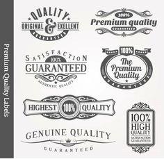 7 Gray Decorative Design Elements Premium by DecorativeClipart