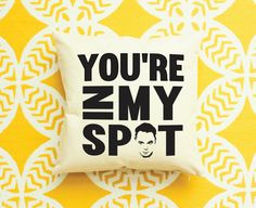The Big Bang Theory Sheldon Cooper Pillow by AndersAttic on Etsy https://www.etsy.com/listing/252254872/the-big-bang-theory-sheldon-cooper