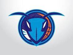 Interesting take on the new Charlotte Hornets logo.
