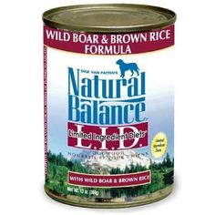 NB LID Can Wild Boar Rice 12x13 -- Click image for more details. (This is an affiliate link and I receive a commission for the sales)