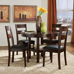 Easy On The Eye 5 piece dining set round table
