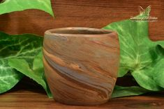 Here we have an excellent 2 inch tall Brown Mission Swirl Vase. Many manufacturers offered the option to have a miniature sample sent to them for inspection prior to purchasing. This vase is a perfect example of a mail order sample. A fantastic piece o Light Reflection, Green And Brown, Pottery Art, 1920s, Miniatures, Vase, Chips, Vintage, Interior