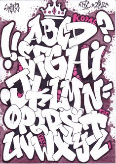 graffiti letters                                                       …                                                                                                                                                                                 Más