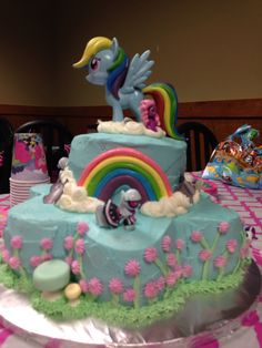 My lil pony birthday cake