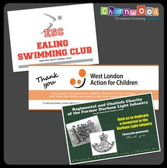 Labels designed and printed for Ealing Swimming Club, West London Action for Children and Regimental and Chattels Charity of the Former Durham Light Infantry. If you are interested in our collection box and bucket labels please visit our website: www.charnwood-catalogue.co.uk  #charity #fundraising #fundraisingsupplies Custom Printed Labels, Printing Labels, Swim Club, West London, Label Design, Durham, Fundraising, Charity, Bucket