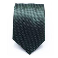 827a598616cf Cravate en soie en vert forêt. 150 cm x 8 cm Couleur: Vert Tailles