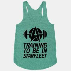 Training to be in Starfleet | HUMAN