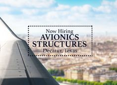 We are looking to hire Avionics and Structures Mechanics in Decatur, Texas! (Work includes Bell 407 helicopters).  For more information, contact us at 1.888.888.7195, option 2. or email launchrecruiting@launchtws.com.