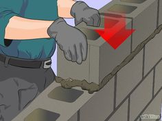 Lay Concrete Blocks Step 16