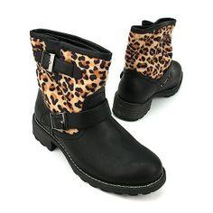 Biker Boots cheetah