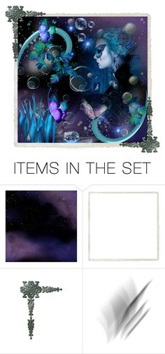 """""""Teal and Purple challenge"""" by barebear1965 ❤ liked on Polyvore featuring art"""