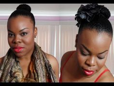 Add me on FACEBOOK: https://www.facebook.com/1SimplYounique    Yes, another video. Sorry for pushing them out back to back but I figured since I have some free time, I would upload multiple videos. This style is so easy to do and it is great for those hot summer days! =)    Lipstick Info:  MAC (fusion pink) & LA Colors (forever red lip-liner)    ...