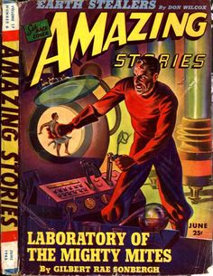 Science Fiction Magazines: Amazing Stories 187 v17n06