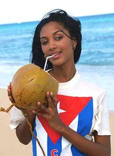 Beautiful Cuban Woman