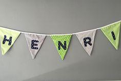 Weiteres - Wimpelkette mit Namen - ein Designerstück von mimo-bambino bei DaWanda