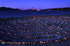 Lands End - Flanked by sharp cliffs with views of the Pacific Ocean, Lands End's trails are most spectacular on a moonlit night.