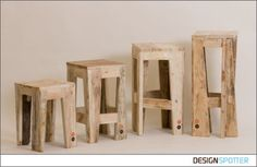 From Max Jungblut: SEATS stool series