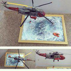 Incredible!!! Sea King Air Sea Rescue 1/72 Airfix diorama. Modeler Stephen Freeman #scalemodel #plastimodelismo #plasticmodel #plastimodelo #miniatura #miniature #maqueta #maquette #modelismo #modelism #modelisme #scalemodelkit #diorama #hobby #plastickits #usinadoskits #udk #rescue #resgate #airfix