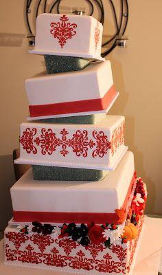 slanted stacked cake Sweet Eats Cakes: June 2011