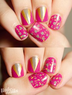 New Blog Design Nails | Little Nails