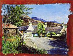 James McIntosh Patrick - Village Scene.jpg