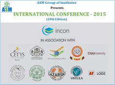 ASM Group of Institutes Presents  #INCON2015