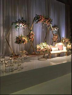 Hexagonal Arch Wood Wedding #arbour Arch Wedding Décor Wedding   Etsy