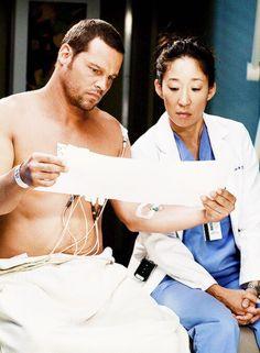 Grey's Anatomy - Alex and Cristina