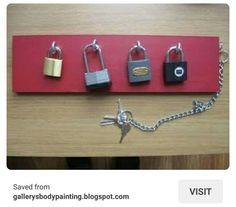 Kids locks and keys practice game