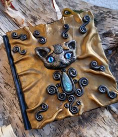 Bast Cat Sorcerer Grimoire Book of Shadows Witch Journal Spell Book Witchy Stuff Witch Gift Magick Magic Tools Altar Notebook Witchcraft Teen Gifts, Gifts For Teens, Gifts For Wife, Gifts For Her, Magic Crafts, Art Crafts, Bottle Jewelry, Jewelry Art, Wedding List
