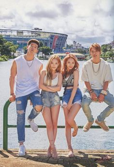 K.A.R.D Hola Hola shared by Weslany_Haruno on We Heart It