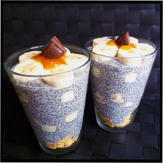 Chia superpotravina - k čemu je dobrá a co si z ní připravit Home Food, Sweet And Salty, Sweet Desserts, Smoothie Recipes, Food Inspiration, Food And Drink, Healthy Eating, Pudding, Healthy Recipes
