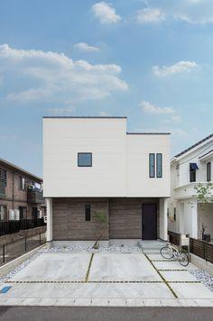 Modern House Facades, Modern Tiny House, Facade House, Scandinavian Interior, Store Fronts, Exterior Design, Beautiful Homes, Sweet Home, Room Decor